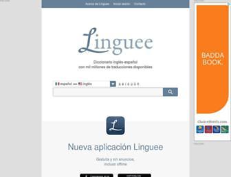 linguee.mx screenshot