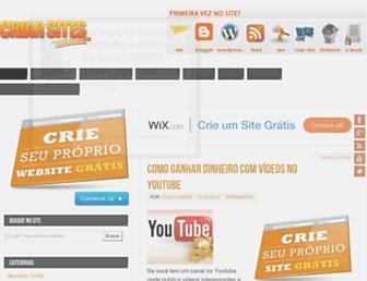 criarsites.com screenshot