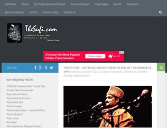 thesufi.com screenshot