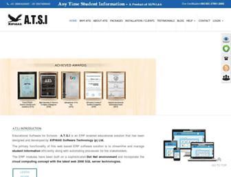atsi.in screenshot