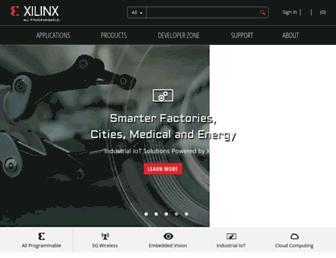 Thumbshot of Xilinx.com