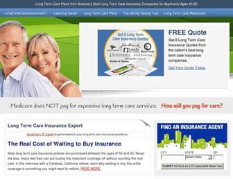 longtermcareinsurance411.com screenshot