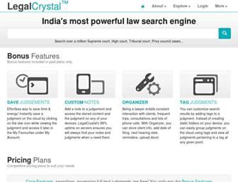 legalcrystal.com screenshot