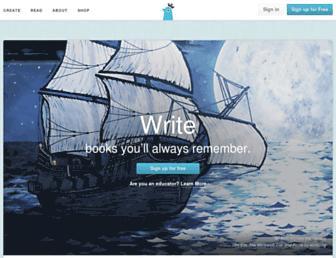 storybird.com screenshot