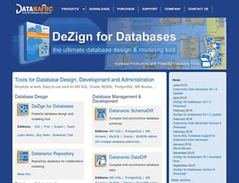 datanamic.com screenshot