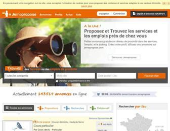 jemepropose.com screenshot