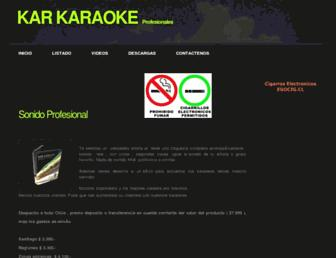 karaokes.cl screenshot