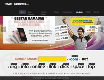 Screenshot for masterweb.net