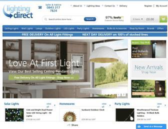 Thumbshot of Lighting-direct.co.uk