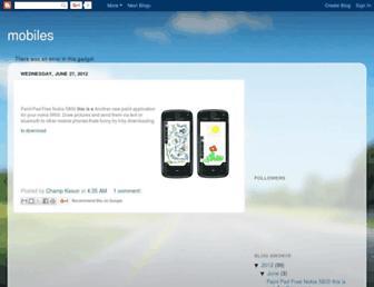 mobileappsksw.blogspot.com screenshot