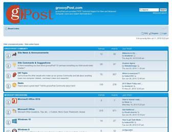 forum.groovypost.com screenshot