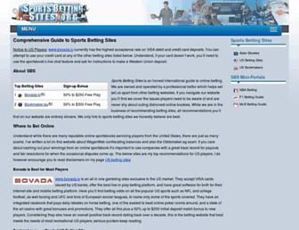 sportsbettingsites.org screenshot