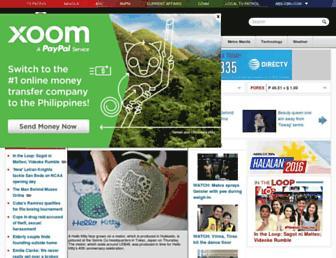 Thumbshot of Abs-cbnnews.com