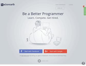 hackerearth.com screenshot