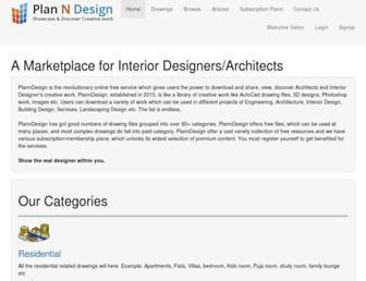 planndesign.com screenshot