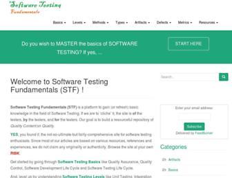 Thumbshot of Softwaretestingfundamentals.com