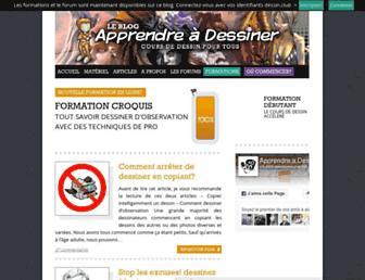 Thumbshot of Apprendre-a-dessiner.org