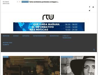 rtunoticias.com screenshot