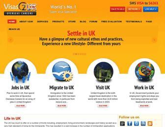 Thumbshot of Visas2unitedkingdom.com
