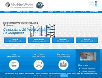 machineworks.com screenshot