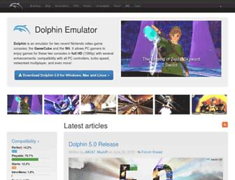 dolphin-emu.org screenshot