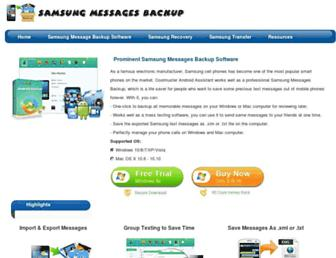 samsung-messages-backup.com screenshot