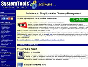 systemtools.com screenshot