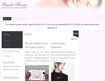 Thumbshot of Beaute-femme.org