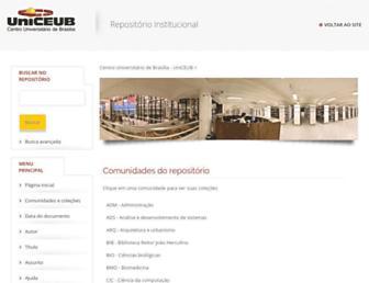 repositorio.uniceub.br screenshot