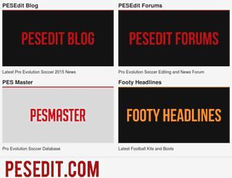 pesedit.com screenshot