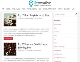 Thumbshot of Listovative.com
