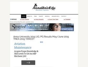 Thumbshot of Annaunivedu.org