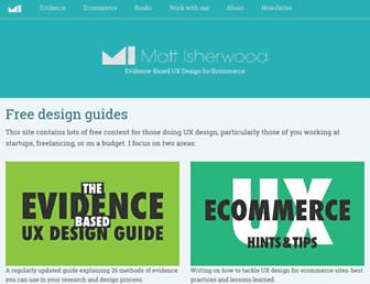 mattish.com screenshot