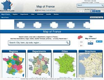 Thumbshot of Map-france.com