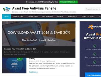 getavast.net screenshot