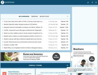 jamiiforums.com screenshot