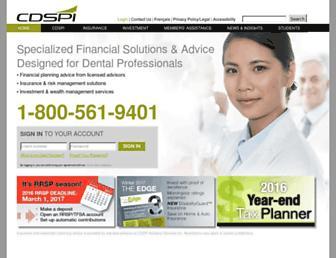 cdspi.com screenshot