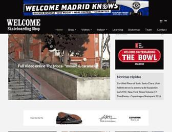 welcomesk8.com screenshot