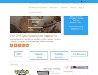 dayspaassociation.com screenshot