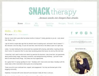 Thumbshot of Snacktherapy.com