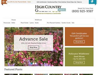 Thumbshot of Highcountrygardens.com