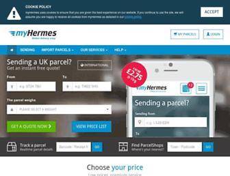 Thumbshot of Myhermes.co.uk