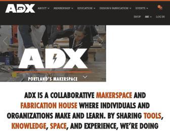 adxportland.com screenshot