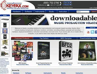 keyfax.com screenshot