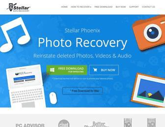 stellarphotorecoverysoftware.com screenshot