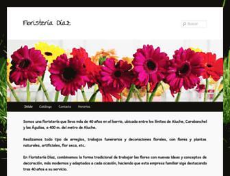 floristeriadiazmadrid.com screenshot