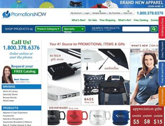 promotionsnow.com screenshot