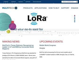 multitech.com screenshot