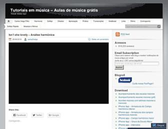 tutoriaisemmusica.wordpress.com screenshot