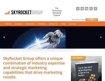 skyrocketgroup.com screenshot